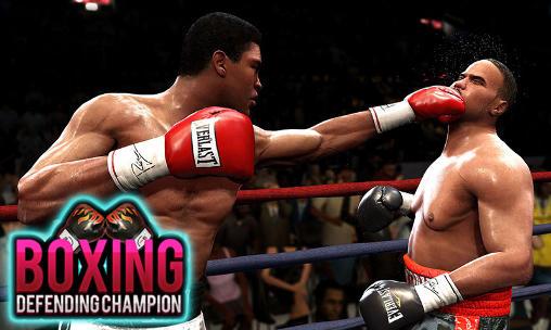 Boxing: Defending champion Symbol