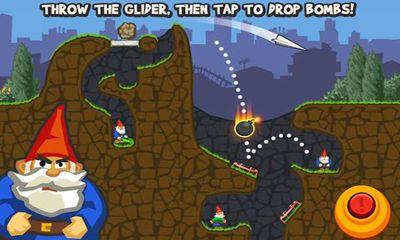 Physikspiele Paper Glider vs. Gnomes auf Deutsch