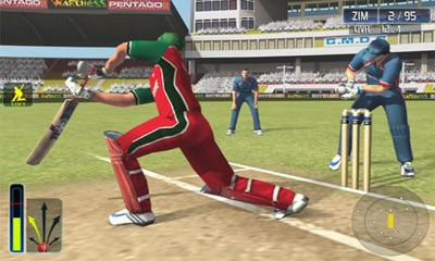 Sports games Cricket World Cup Fever HD for smartphone