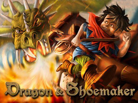 логотип Дракон и сапожник