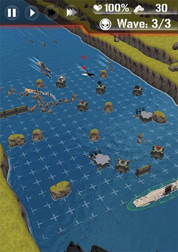 Dawn uprising: Battle ship defense für Android