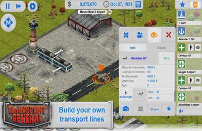 Transport Manager für iPhone