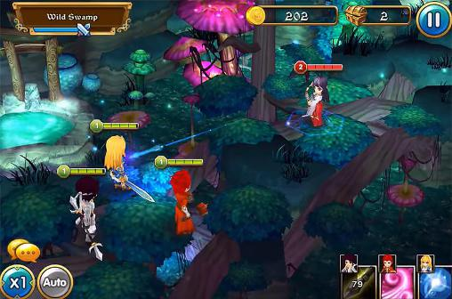 Mighty warriors: Rise of the east pour Android