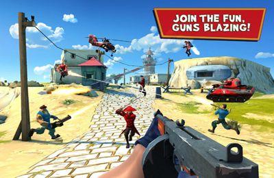 Jeux en ligne Le Bombardement - Le Shooter d'Action Multijoueurs