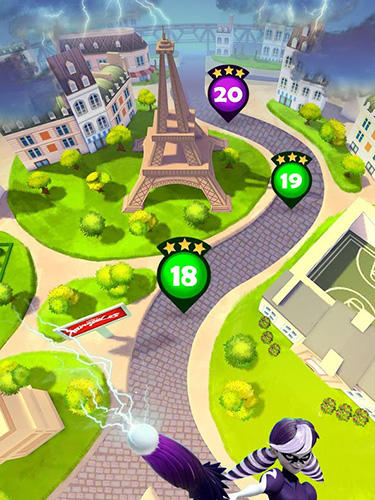 Arcade Miraculous Ladybug and Cat Noir: The official game für das Smartphone