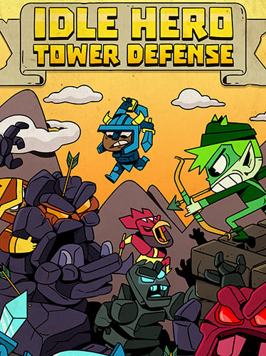 Idle hero TD: Fantasy tower defense скриншот 1