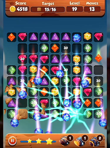 Puzzle king matchs: King's jewerly screenshot 1