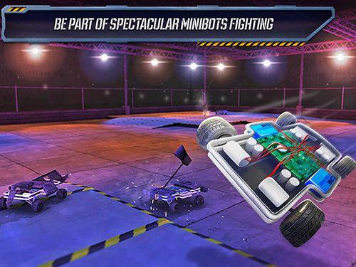 Multiplayer: Lade Roboterkämpfe 2 auf dein Handy herunter