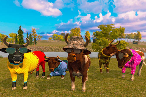 Bull family simulator: Wild knack auf Deutsch