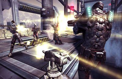 Multiplayer games: download SHADOWGUN: DeadZone to your phone