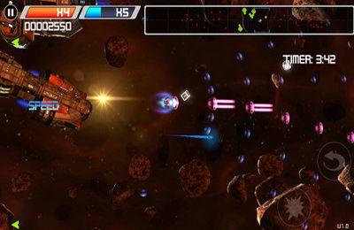 Weltraum Arcade HD für iPhone