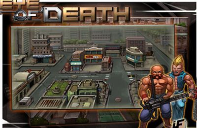 Arcade games: download Eye of Death to your phone