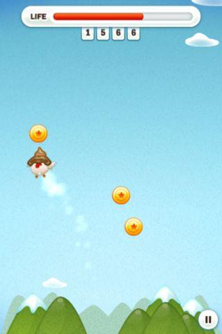 Fliegendes Huhn für iPhone