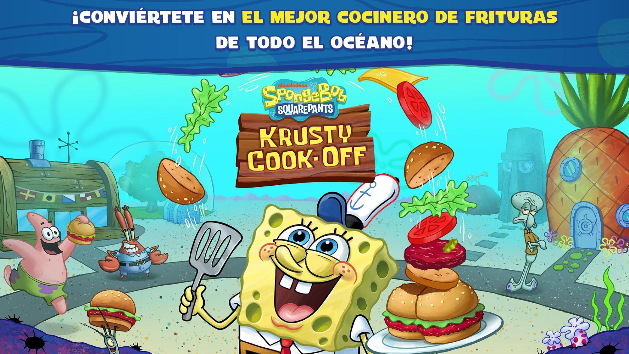 SpongeBob: Krusty Cook-Off captura de pantalla 1