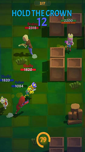 Actionspiele Crown battles: Multiplayer 3vs3 für das Smartphone