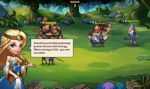 Idle heroes in English