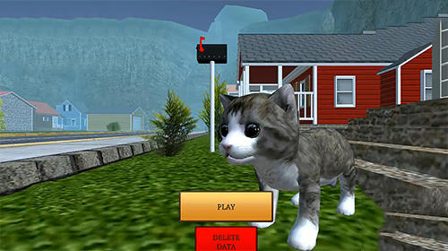 Simulator-Spiele Cat simulator: Animal life für das Smartphone