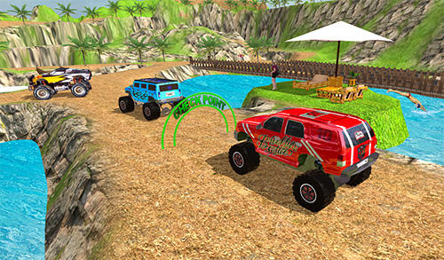 Offroad grand monster truck hill drive für Android