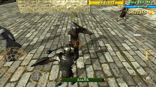 RPG Deadly medieval arena for smartphone