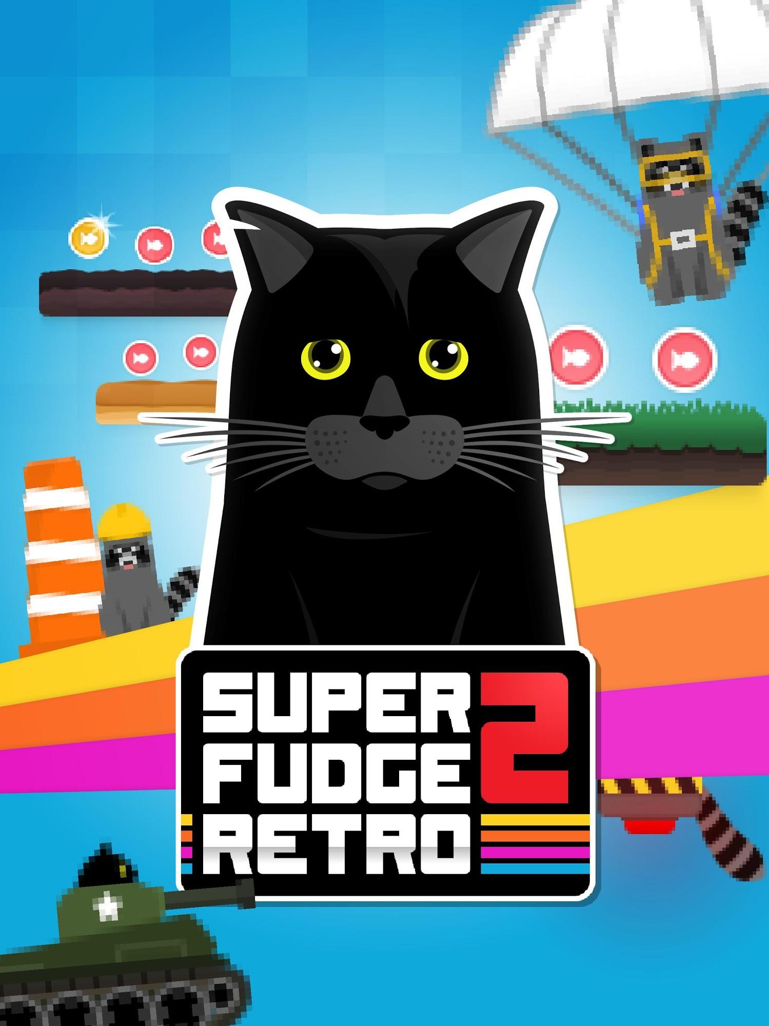 Super Fudge 2: RETRO captura de tela 1