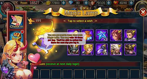 RPG Final clash für das Smartphone