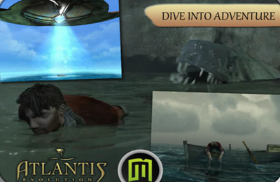 Adventure games: download Atlantis: Evolution to your phone