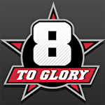 8 to glory: Bull riding Symbol