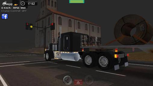 Capturas de tela de Simulador de grande caminhão