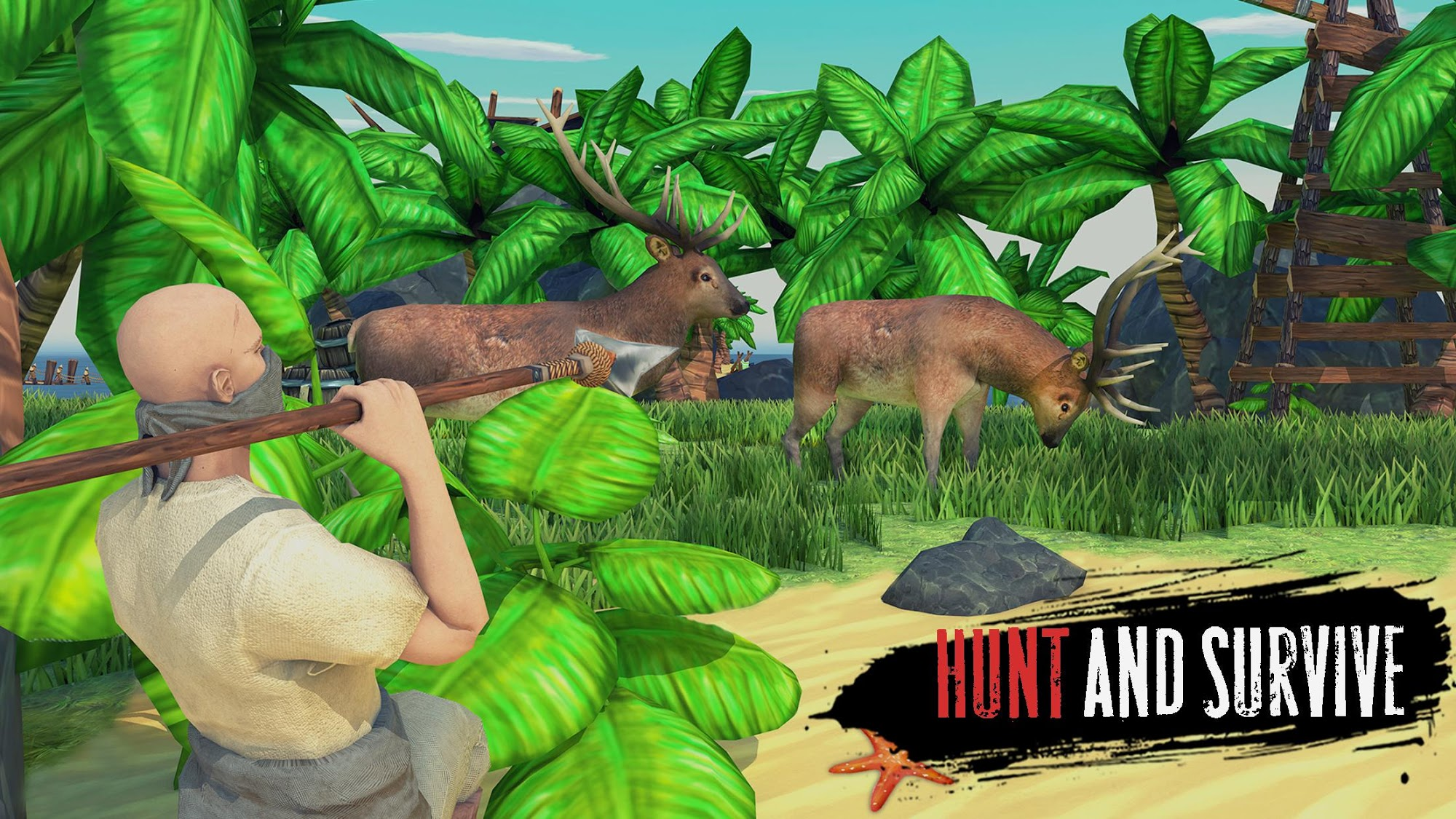 Raft Survival: Lost on Island - Simulator screenshot 1