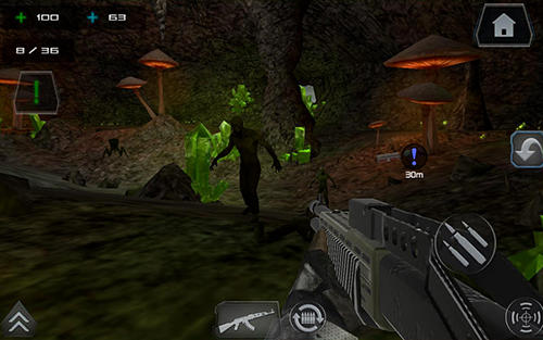 Zombie shooter world war star battle gun 3D FPS 2 captura de pantalla 3