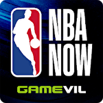 NBA now: Mobile basketball game Symbol