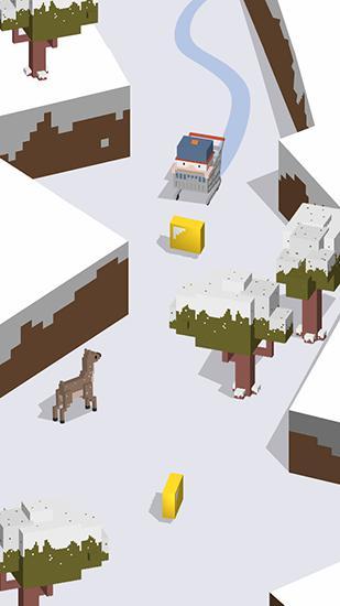 Silly slide: Retro 3D arcade Screenshot