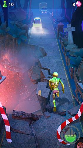 Arcade-Spiele Spirit run 2: Temple zombie für das Smartphone