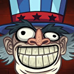Troll face quest: USA adventure Symbol