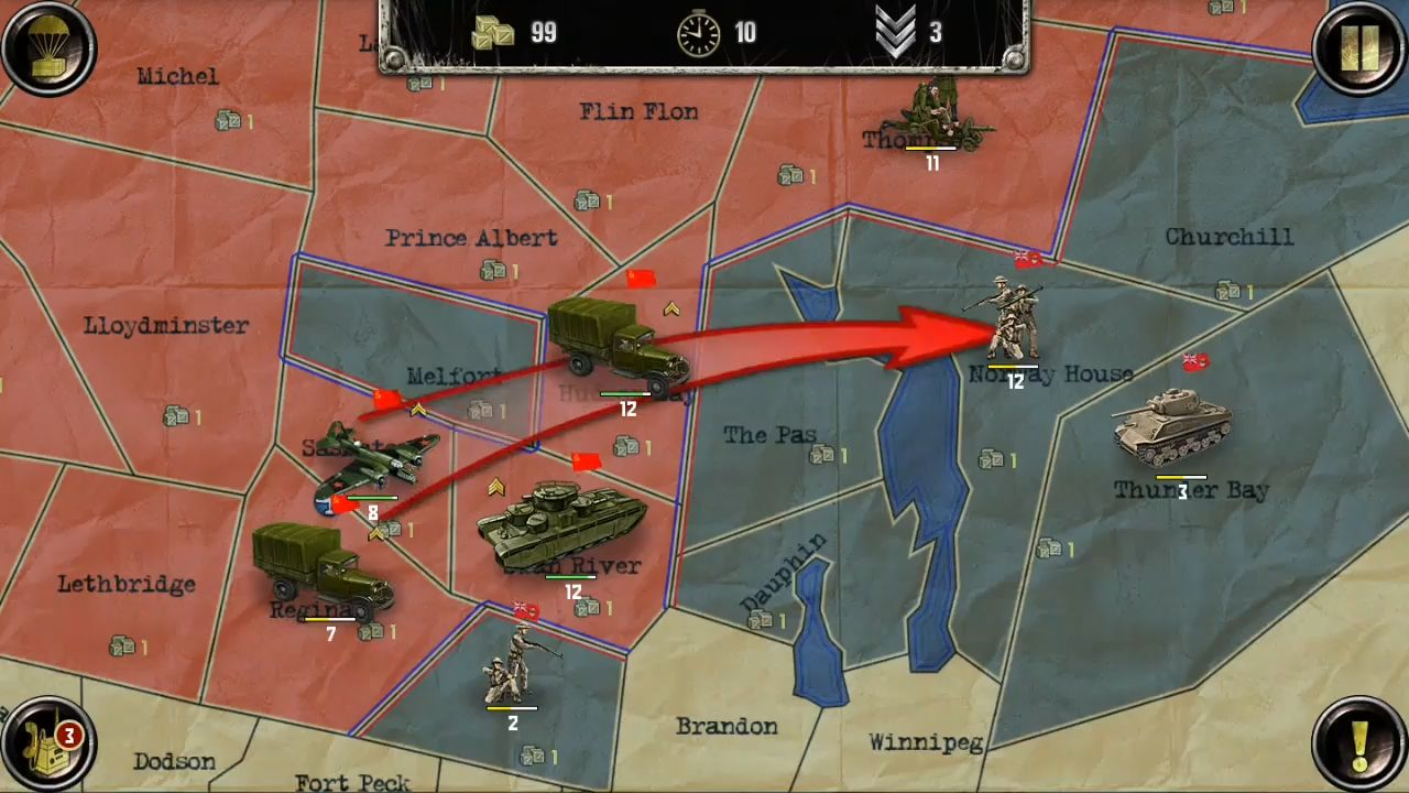 Strategy & Tactics:USSR vs USA pour Android