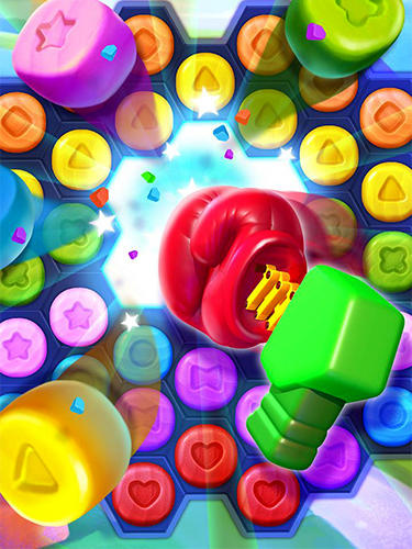 Arcade-Spiele Toy party: Dazzling match 3 für das Smartphone