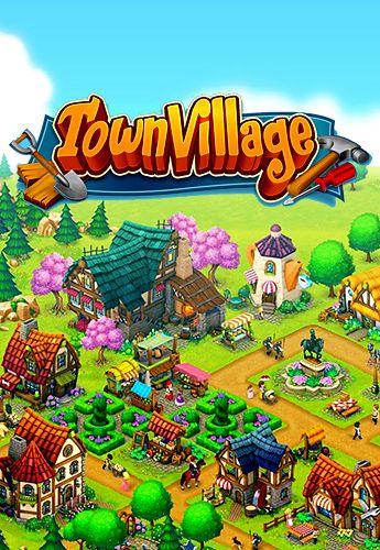 логотип Городская деревня: Ферма, строительство, торговля