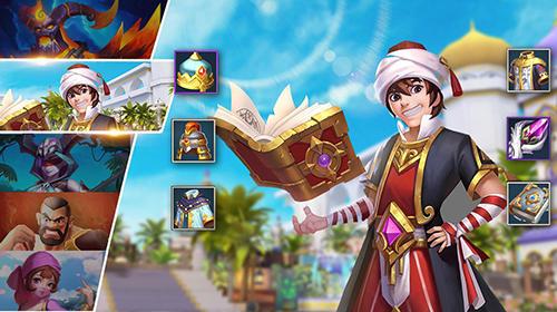 角色扮演游戏 Aladdin: Lamp guardians智能手机