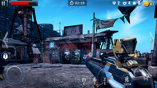 FPS-Spiele Commando fire go: Armed FPS sniper shooting game auf Deutsch