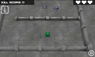 Juegos de arcade Tank Hero para teléfono inteligente