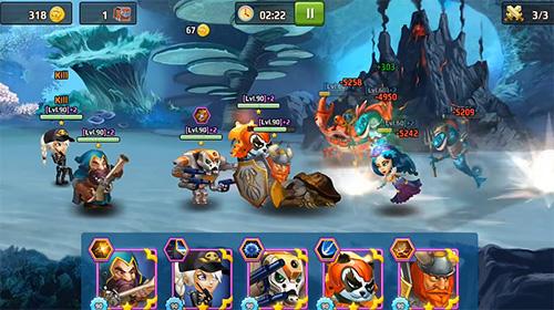 Strategie RPG Battle arena: Heroes adventure. Online RPG auf Deutsch