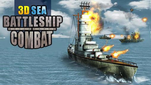 Sea battleship combat 3D Symbol