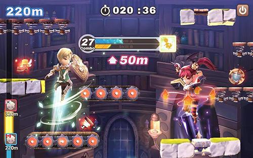 Online RPGs Jump arena: PvP online battle auf Deutsch