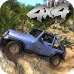 4x4 off-road rally 4 Symbol
