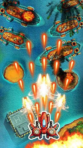 Arcade-Spiele Space X: Galaxy war für das Smartphone