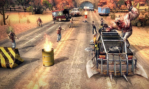 Guns, cars, zombies für Android