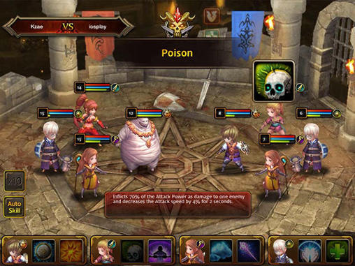 Strategy RPG games Dragon knights in English