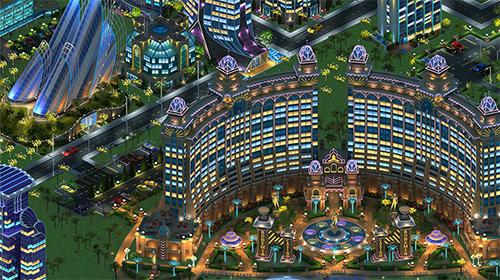 Strategiespiele Megapolis by Social quantum ltd für das Smartphone