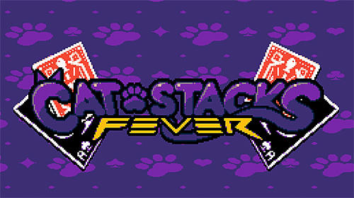 Cat stacks fever: Endless speed card game скриншот 1