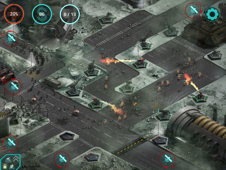 2112TD: Tower Defense Survival captura de pantalla 1